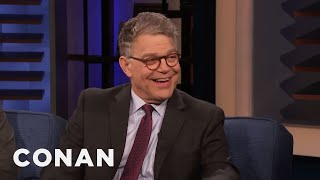 Al Franken On His New Sirius XM Show - CONAN on TBS