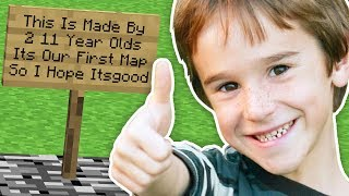 Download Lagu 11 YEAR OLDS MADE THIS MINECRAFT MAP! Gratis STAFABAND