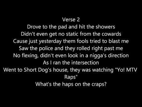 Ice Cube  - It Was Good Day (Lyrics)