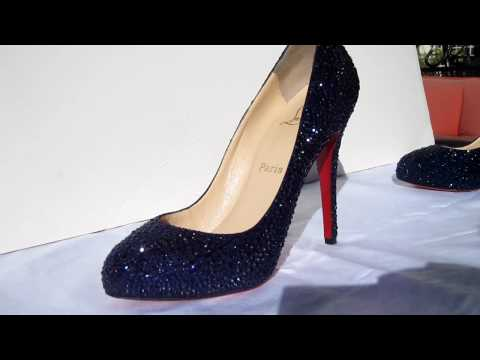 Christian Louboutin DIY Strass