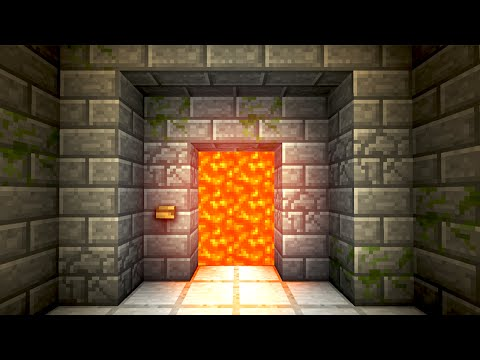 Automatic Lava Door! - Minecraft Tutorial