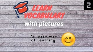 Vocabulary words English learn with meaning in Hindi | Easy learning|