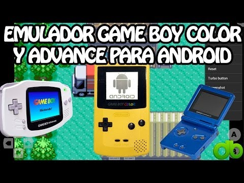 Emulador Game Boy Advance y Color para Android + Juegos (Roms) con John GBA y GBC (GAMEBOY)