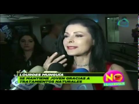 Lourdes Munguía opina sobre las cirugías plásticas