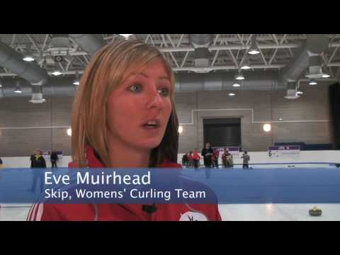 GB Curling Team's Media Day