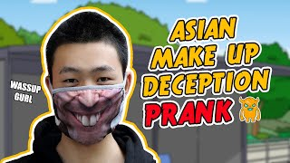 Asian Makeup Deception Prank - Ownage Pranks