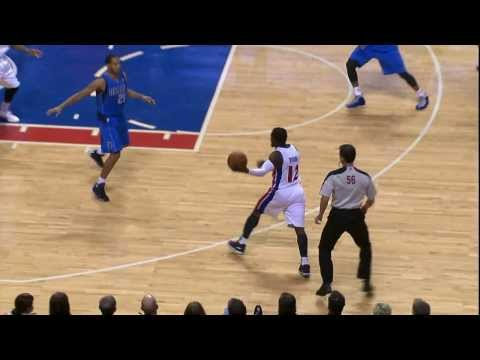 Will Bynum Makes Devin Harris Stumble with the Filthy Crossover