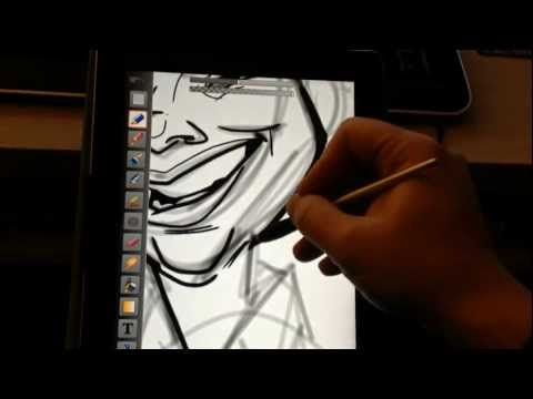 ArtStudio for Caricatures Tutorial Pt.1 (Line-work)