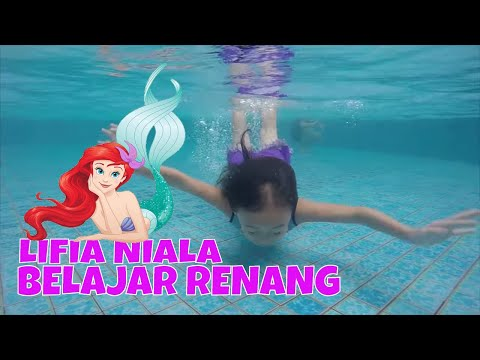 Swimming Pool Kids - Belajar Berenang di kolam renang Jatra Swimming Pool @LifiaTubeHD