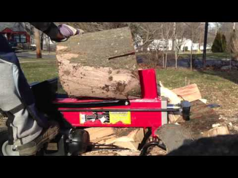 Harbor Freight 7 Ton Electric Log Splitter