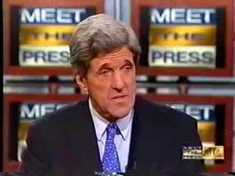 MSNBC Meet The Press Interview with John Kerry the Skull & Bones Question
