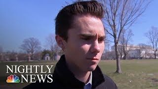 Marjory Stoneman Douglas Students Arrive In Washington For 'March For Our Lives' | NBC Nightly News