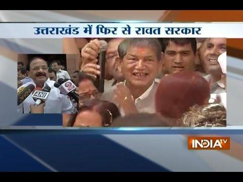 Harish Rawat returns as Uttarakhand CM