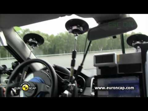 Euro NCAP | Mercedes-Benz M-Class | 2012 | Электронный контроль устойчивости