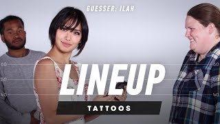 Which Tattoo Belongs to Which Person? (Ilah) - Lineup
