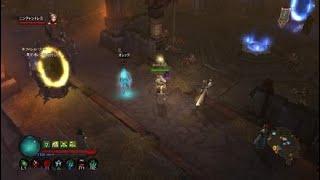 ディアブロ3 ネファレムリフト高速周回 ネクロマンサー編 Diablo III