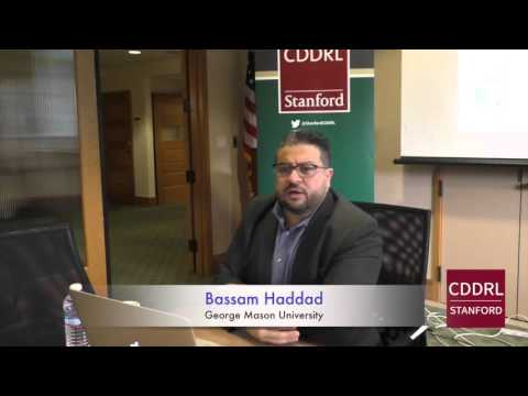 """ARD Stanford: Bassam Haddad on """"Causes and Dynamics of the Syrian Uprising,"""" January 22, 2016"""
