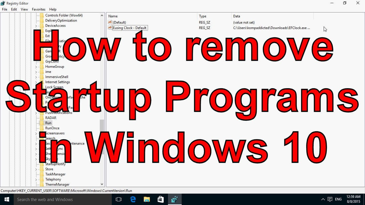 How to Change Startup Programs on Your Computer How to Change Startup Programs on Your Computer new pics