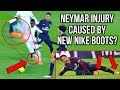 DID NEYMAR'S NEW NIKE MERCURIAL BOOTS CAUSE HIS ANKLE INJURY?