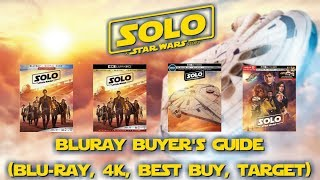 SOLO: A STAR WARS STORY - 4K/BLURAY UNBOXING (BLU, 4K, BEST BUY, TARGET) BLURAY BUYERS GUIDE