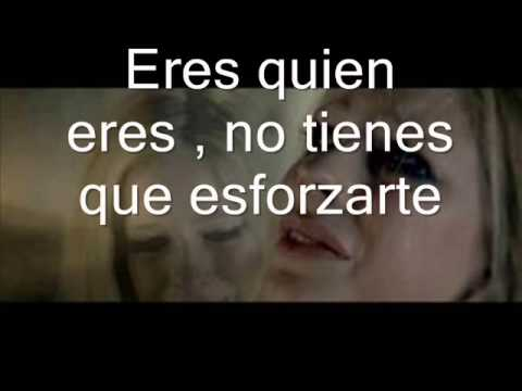 Wish You Were Here - Avril Lavigne (letra-español) video