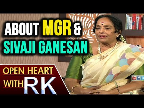 Senior Actress K.R Vijaya About MGR and Sivaji Ganesan | Open Heart with RK | ABN Telugu