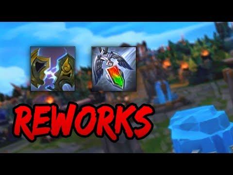 ZEKES + REDEMPTION REWORKS - 50% BONUS DMG? (League of Legends)
