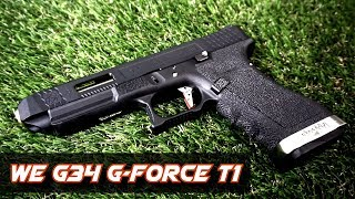 [Review] WE G-Force G34 T1 - GBB Pistol (Glock34 Custom)