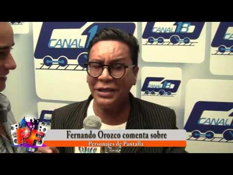 Fernando Orozco opina sobre personajes mediaticos Pito Señores...!!!