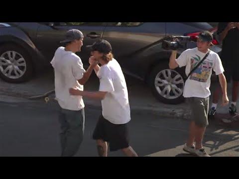 SCREAMING VLOG #4: Henry, Maurio, Brian and Eman in 111° LA!   Santa Cruz Skateboards