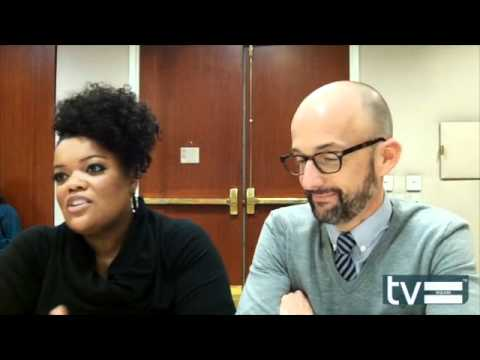 Yvette Nicole Brown and Jim Rash (Community Season 3) Interview - March 2012