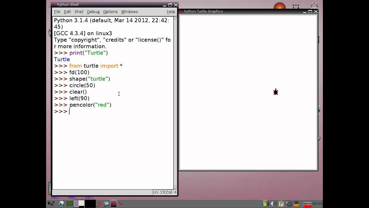 Drawing Lines Using Python : Python tutorial turtle graphics youtube