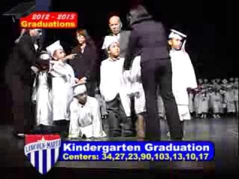 Lincoln Marti Schools Kindergarten Graduations 2013