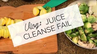 Vlog #01: Juice Cleanse FAIL + Easy Vegan Dinner Cooking | TERI MIYAHIRA