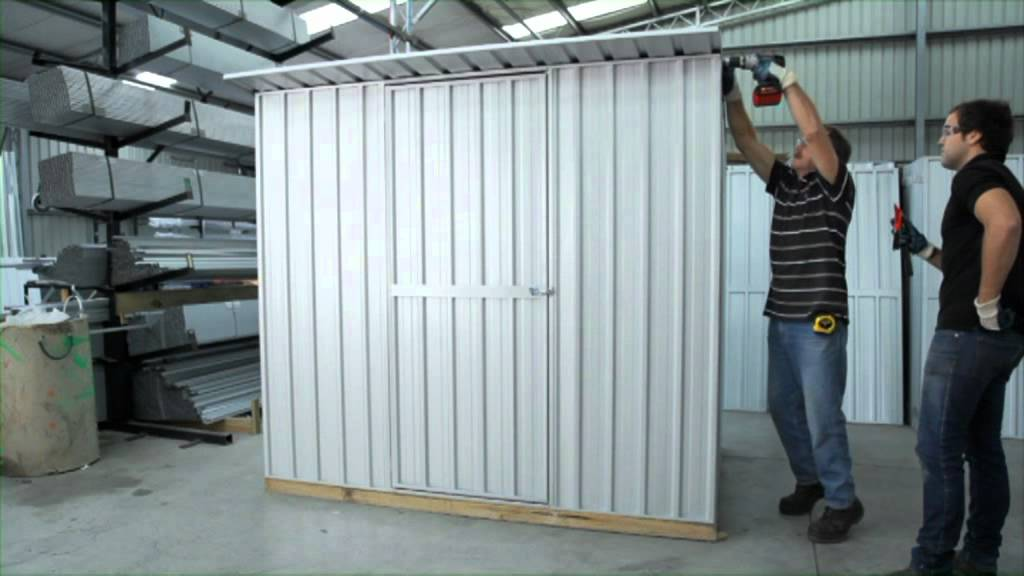 Shed Assembly Flat Or Sloping Roof Garden Master Sheds