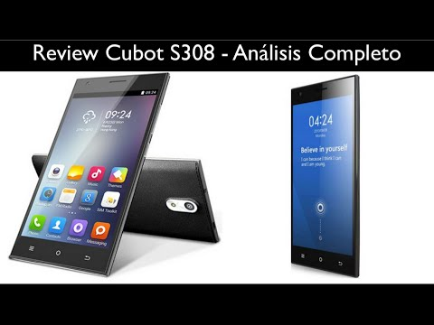 Review Cubot S308 - Análisis completo