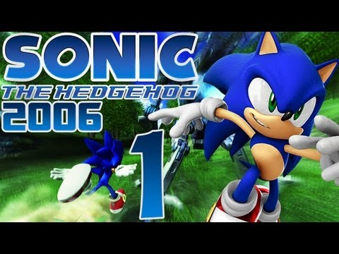 Lets Play Sonic the Hedgehog 2006 - Part 1 - Chaos in Soleanna...