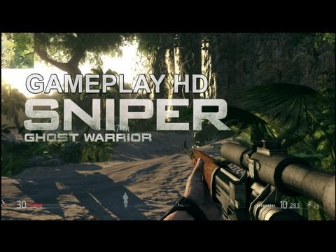 Sniper Ghost Warrior - Gameplay HD 6570