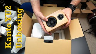 Audio: Kanto YU2 Powered Desktop Speaker  Unboxing