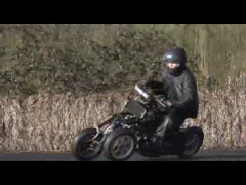 Four wheeled motorcycle 4MC  No.1