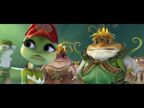Принцесса-лягушка -  Русский трейлер (2017)