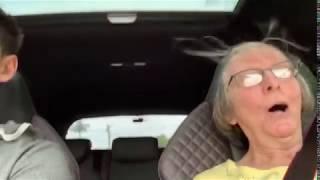 Grandma's Reaction to my Audi RS3