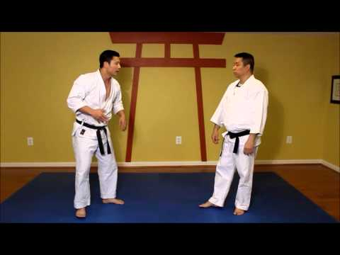 Shorin Ryu Pinan Shodan karate Applications