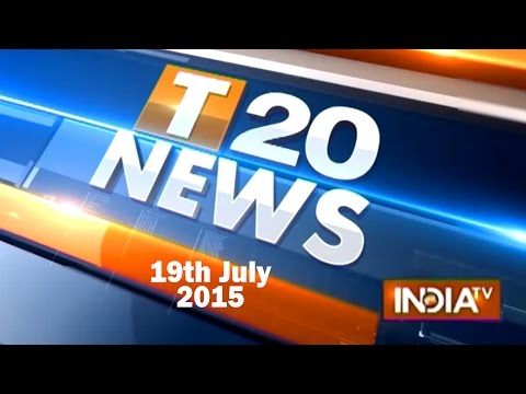 India TV News: Top 20 Reporter | 19 July,2015 | India Tv