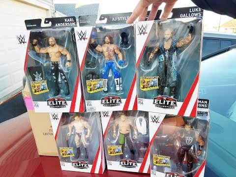 WWE ELITE 56 UNBOXING + FREE FIGURE GIVEAWAY!