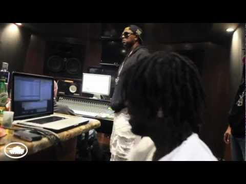 "Studio Session: Master P, Chief Keef, Alley Boy & Fat Trel In The Lab Working On ""Bang Bang"""