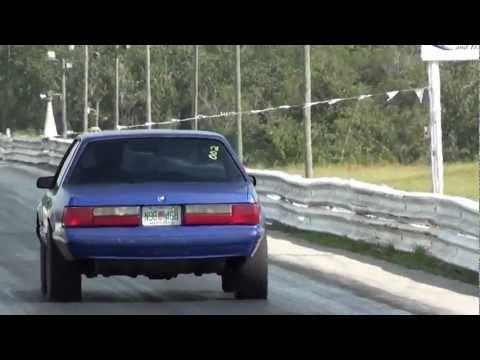 88 Ford mustang 5.0 Police Interceptor @ Panama Beach Raceway