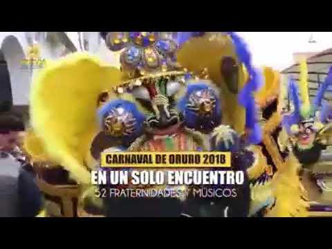 Primer Convite del Carnaval de Oruro 2018