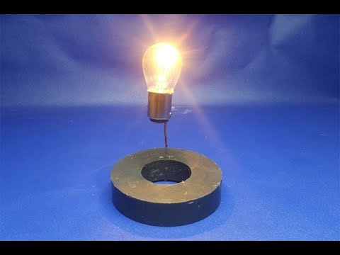 Wow !!! Free Energy Generator with Magnet 12 Volts Light Bulb New Idea thumbnail