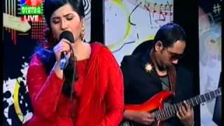 BD singer Nancy on bangla lion music club in banglavision VABTE PARO   YouTube